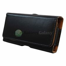 HOT! Genuine Leather Pouch Belt Cell Phone Case for Kyocera Brigadier/DuraForce