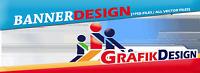 1x Header Footer Grafik gif Format animiertes Banner Graphic Agency desinger HQ