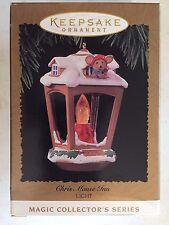Vintage 1996 Chris Mouse Inn Hallmark Ornament QLX7371 12th in the Series Light