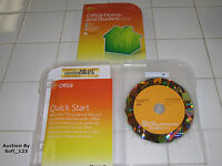 MS Microsoft Office 2010 Home and Student Family Pack Licensed For 3PCs =RETAIL=