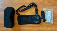 DonJoy UltraSling II Shoulder Immobilizer Pillow Strap Black Sling Sz MEDIUM 3pc