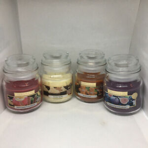 Wickford & Co Christmas Fragranced Candles In Jar All Four Scent Small