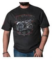 Harley-Davidson Men's 1903 Timeless Short Sleeve Crew Neck Shirt – Black