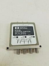 HP 8763B Coaxial Switch DC , 18GHZ