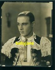 RUDOLPH VALENTINO VINTAGE 8X10 PHOTO AS MATADOR 1924 A SAINTED DEVIL