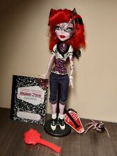 Monster High doll Operetta (Basic) COMPLETE Set (Pet, stand, accessories)