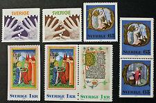 Timbre SUÈDE / Stamp SWEDEN YT n°944, 945, 946, 948, 946b et 948b (cyn9)