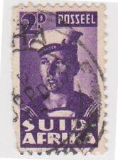 (RSA258) 1942 South Africa 2d violet Sailor (B) (SUID)