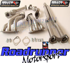 Milltek Manifolds Golf R32 MK4 Exhaust FREE FLOW & De Cats SSXVW072 & SSXVW271