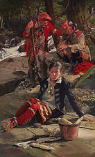 John Buxton KINSMAN TO THE SHAWNEE, Eastern Native Amercian, art print