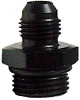 Aluminum -8 AN O'ring to Male -8 AN  Port Fitting