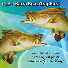 Barra Graphics - set of 250mm Boat Graphics