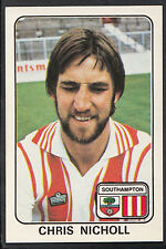 Panini 1979 Football Sticker - No 317 - Chris Nicholl - Southampton