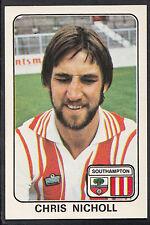 Panini football 1979 sticker-nº 317-chris nicholl-southampton