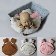 Newborn Infant Photography Props Blanket Winter Warm Baby Posing Pillow Prop Toy