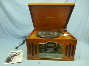 Crosley Music Writer CR 24-003A  Records Vinyl & Cassettes to CD's Vintage Look