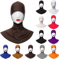 One Piece Hijab Scarf for Muslim Women Ladies Soft Head Kerchief Cap Bonnet