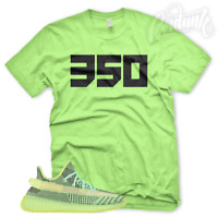 "New ""350"" T Shirt for Adidas Yeezy Boost 350 YeezReel Non Reflective Glow"