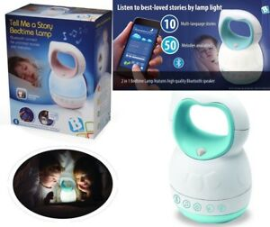 Tell Me A Story Bedtime Lamp Toddlers Baby Kids Musical Nightlight Light Show