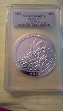 2012 ACADIA 5 Oz. ATB SILVER PCGS MS69 DMPL...WOW!$$$$
