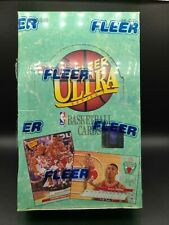 92-93 Fleer Ultra Basketball Series 1 Sealed Box ALL-NBA TEAM, MICHAEL JORDAN