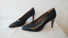 "Leather Court Shoes ""Black"" Year 1980 Ariandetti T. 37"