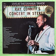 Ray Conniff's Concert In Stereo - Live At The Sahara/Tahoe - CBS 66256 Ex+