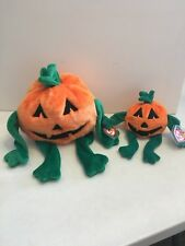 TY BEANIE BABY AND BUDDY- PUMKIN, MINT W/TAGS