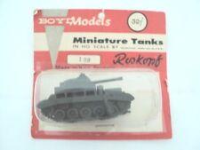 RARE VINTAGE WWII BOYD MODELS MINIATURE TANKS  #108  ROSKOPF W. GERMANY