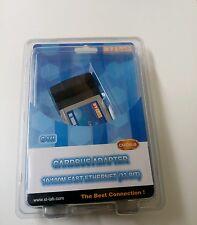 ST Lab c-141 10/100m Fast Ethernet (32-bit) Adattatore CardBus GRATIS UK