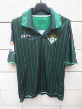 Maillot REAL BETIS Balompié 2012 n°14 LFP camiseta shirt jersey football away M