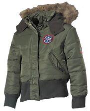 MFH US Kinder-Polarjacke mit Fellkragen Jacke Winterjacke Kinderjacke S-XXL