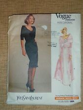 "VOGUE PATTERN #2288 - *PARIS ORIGINAL ""YSL"" * DRESS - MISSES 10"