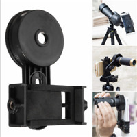 Universal Smart Phone Adapter Monocular Binocular Spotting Scope Telescope Mount