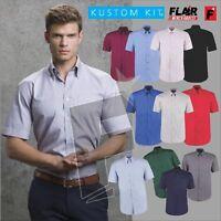 Kustom Kit Men's Short Sleeve Corporate Oxford Shirt