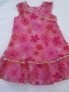 Girls Size 1 Pumpkin Patch  Patch Princess  dress with sequins 12-18mths