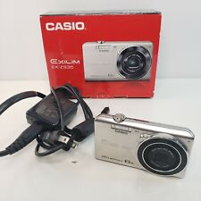 Casio EXILIM EX-ZS35 Digital Camera Silver 20.1 megapixels 6x Japan used