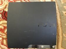 Sony PlayStation 3 Slim Launch Edition 160GB Charcoal Black Console (CECH-2101A)