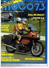 M8117-BMW R 100 RT, HONDA GL1100,POSTER SIDECAR CROSS