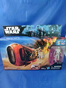 NEW Disney Star Wars Rey's Speeder w Rey Jakku