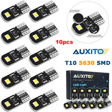 10X Canbus T10 W5W 192 168 194 LED Light Xenon White 6000K 5730-SMD Bulbs Auxito