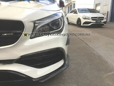 W117 c117 facelifted carbon fiber Canards CLA45 250 AMG 45 16up-revo lip gt wing