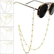 Women Eyeglass Chain Sunglasses Reading Beaded Glasses Chain Eyewear Rope 70cm~
