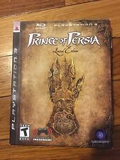 Prince of Persia - Limited Edition (Sony PlayStation 3, 2008) Complete