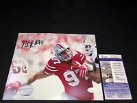 NICK BOSA OHIO STATE BUCKEYES SIGNED 8X10 PHOTO JSA COA SD57638 NFL DRAFT