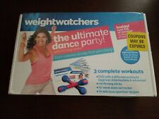 Weightwatchers The Ultimate Dance Party Workouts Recipes Weights Dvd