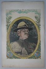 E. DAMBLANS (1865/1945)  - WW1 -  US GENERAL JOHN JOSEPH PERSHING