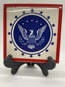 Besheer Art Tile American Eagle Made In The USA Anerican Themed