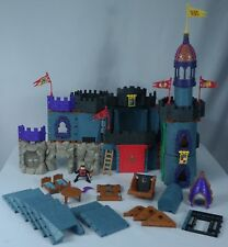 Fisher Price Imaginext Battle Castle/Wizard Mixed Building Set 88 PC Lot #78333