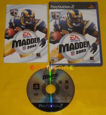 MADDEN NFL 2003 Ps2 Versione Ufficiale Italiana »»»»» COMPLETO
